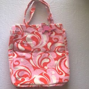 Victoria's Secret PINK terry beach bag NWOT